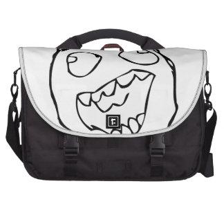 Happy derp -meme bag for laptop