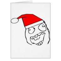 Happy derp santa - meme card