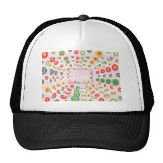 Happy Designs : Back n Front Print Trucker Hat