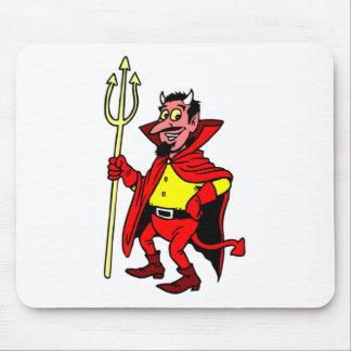 Happy Devil Mouse Pad