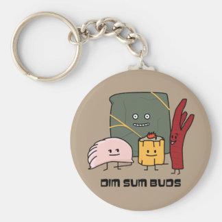 Happy Dim Sum Buds Keychain