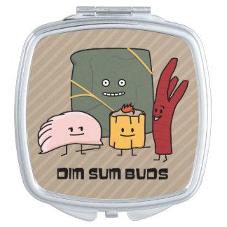 Happy Dim Sum Buds Makeup Mirror