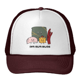 Happy Dim Sum Buds Trucker Hat