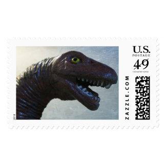 Happy Dino Postage