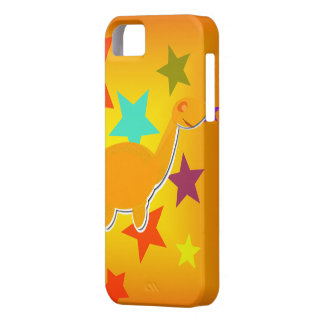 Happy Dinosaur Stars iPhone 5 Cover