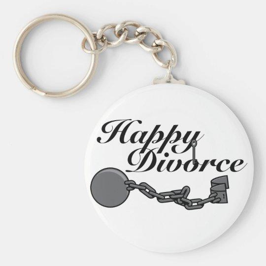 Happy Divorce! Keychain