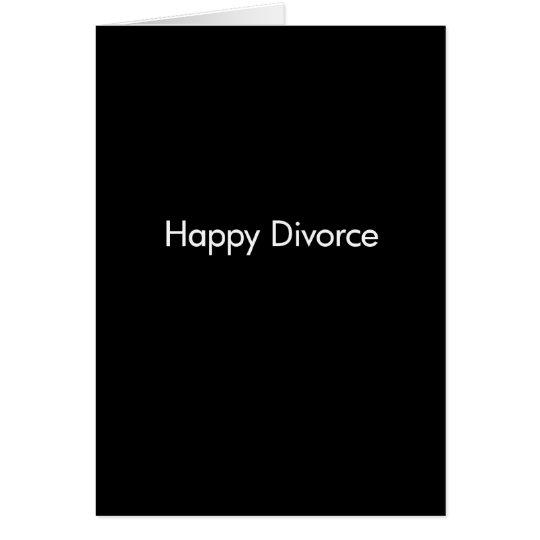 Happy Divorce Template