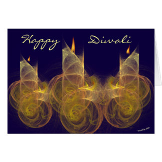 Happy Diwali greeting card. Card