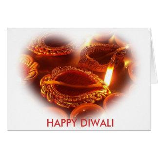 HAPPY DIWALI lamp Greeting Card
