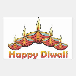 Happy Diwali Rectangular Sticker