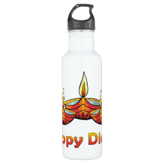 Happy Diwali Water Bottle