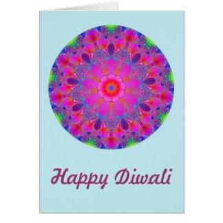 Happy Diwali with mantra custom text Card