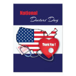 Happy Doctors' Day Customizable Greeting Cards Custom Invite