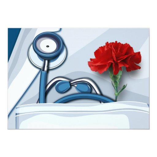 Happy Doctors' Day Customizable Greeting Cards Invitation