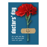 Happy Doctors' Day Customizable Greeting Cards Personalized Announcement