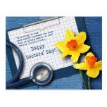 Happy Doctors' Day. Customizable Postcards