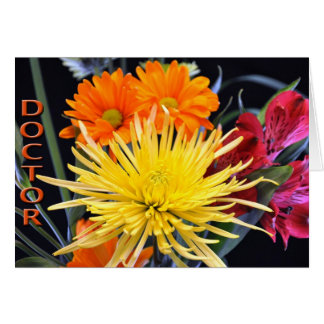 Happy Doctors' Day Floral Card
