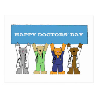 Happy Doctor's Day Postcard
