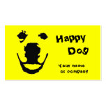 Happy Dog Double-Sided Standard Business Cards (Pack Of 100)