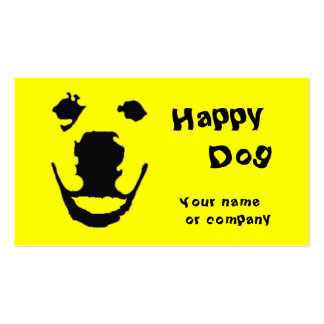 Happy Dog Business Card