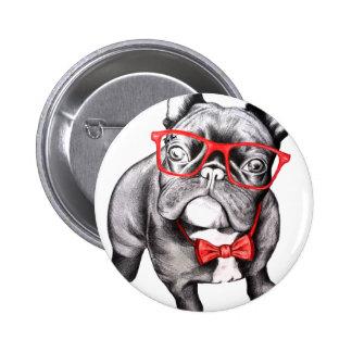 Happy Dog Button