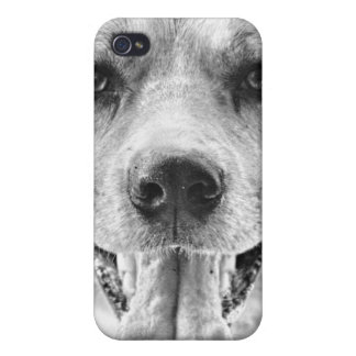 Happy Dog face iPhone 4 Speck case iPhone 4/4S Cover