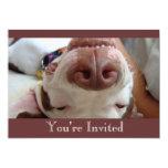 Happy Dog Invitation