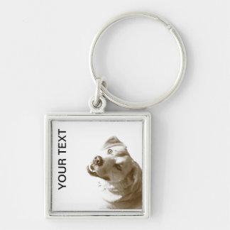 Happy Dog keychain