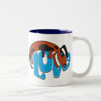 Happy Dog Love Mug