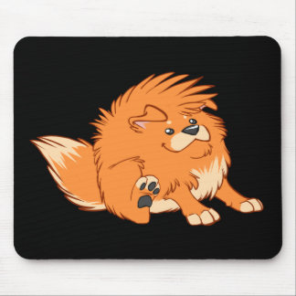 Happy Dog Mouse Pad
