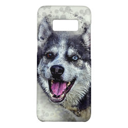 Case-Mate Barely There for Samsung Galaxy S8 Case with Siberian Husky Phone Cases design