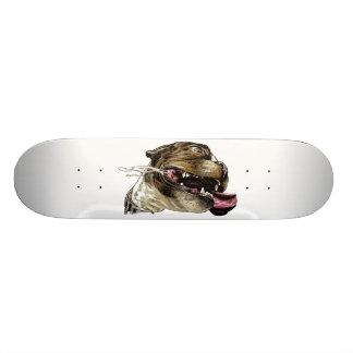 Happy Dog - skateboard