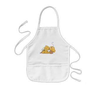 Happy Dog With Bone Tshirts and Gifts Aprons