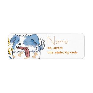 Happy Doggie Label