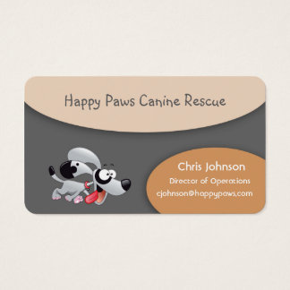 Happy Dogs Business Card