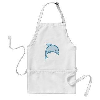 Happy Dolphin Adult Apron