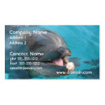 Happy Dolphin Double-Sided Standard Business Cards (Pack Of 100)