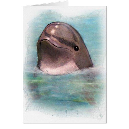 HAPPY DOLPHIN CARD