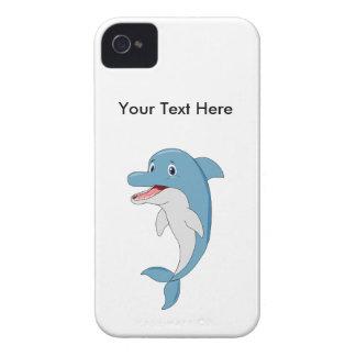 Happy dolphin iPhone 4 case