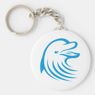 Happy Dolphin Keychain