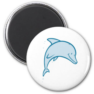 Happy Dolphin Magnets