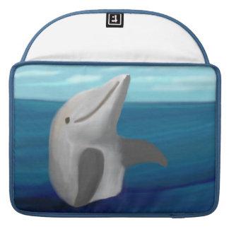 Happy Dolphin Sleeve For MacBooks