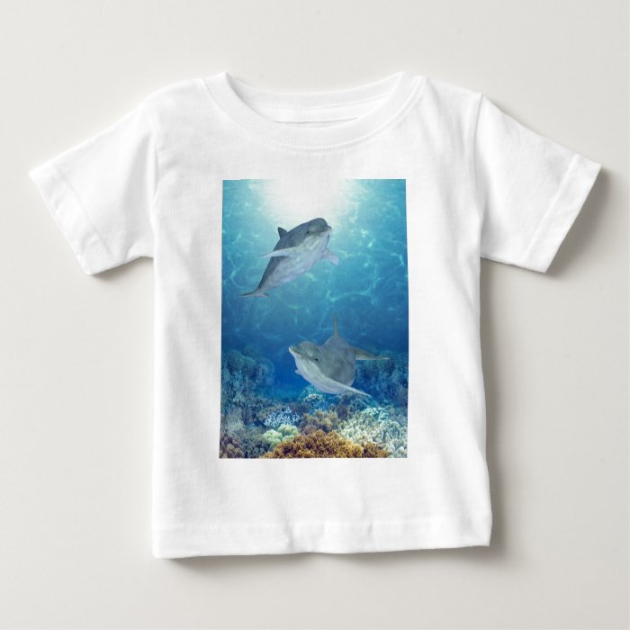 happy dolphins baby T-Shirt