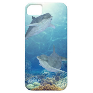 happy dolphins iPhone 5 cover