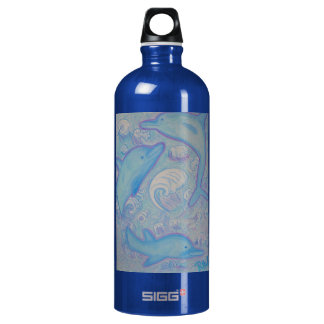 - Happy Dolphins SIGG Traveler 1.0L Water Bottle