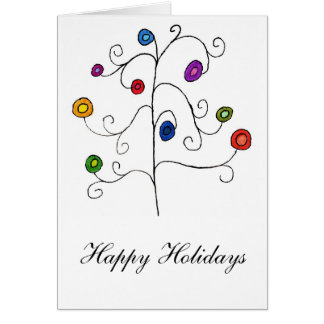Happy Doodle Holidays Card