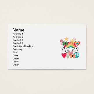 Happy Doodles Business Card