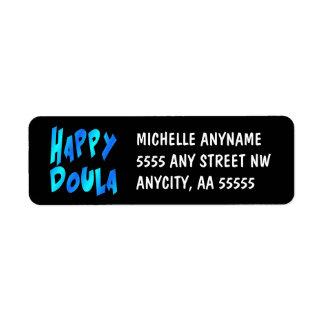 Happy Doula Label