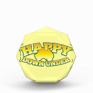 Happy Down under Acrylic Award