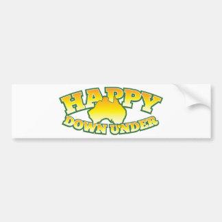 Happy Down under Bumper Sticker